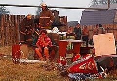 На восстановление каждого сгоревшего дома государство обещает выделить 3 млн руб. Но не в руки погорельцев, а в региональный бюджет