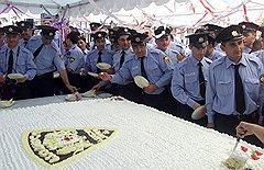 Новая форма отнюдь не гарантирует грузинским полицейским сладкой жизни