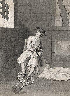 Легендарный лондонский вор Джек Шеппард (на рисунке) попал за решетку, а потом и на виселицу стараниями Джонатана Уайлда, который год спустя повторил его путь