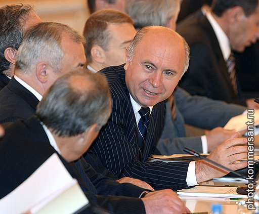 Глава Республики Мордовия Николай Меркушкин, отец бизнес-магнатов Александра и Алексея