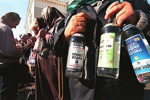 В отличие от Запада в России традиционными каналами торговли водкой являются отнюдь не бары и рестораны