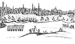 Странно проживший на Ближнем Востоке четверть века Василий Григорович-Барский вполне реалистично запечатлел облик египетской столицы XVIII века