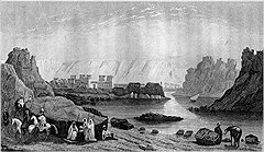 Во время путешествий по Нилу опасность воинственных прибрежных племен, как правило, преувеличивалась, а вот опасность погибнуть от неквалифицированной и нерадивой команды лодки преуменьшалась