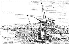 По наблюдениям паломников, весь Египет черпал жизнь в воде, которую водоносы черпали из Нила