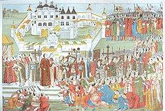 В благодарность за своевременную поддержку вступления на трон Михаила Романова боярина Морозова должным образом одарили землями и должностью при дворе