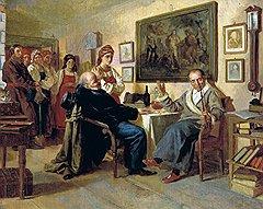 В хлебосольных домах важным гостям предлагали кров, стол и постель с крепостной девкой на выбор