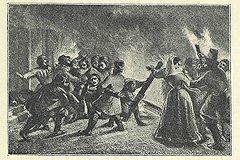 Для вразумления жестоких землевладельцев применялись огонь, взрывчатые вещества и ружья наемных убийц