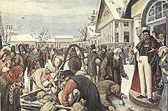 Если недовольный крестьянами барин частенько их порол, недовольные крестьяне, случалось, в ответ пороли его