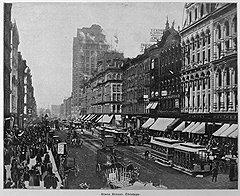 В первом американском суперполисе Чикаго Генри Холмс решил любыми способами сколотить первоначальный капитал