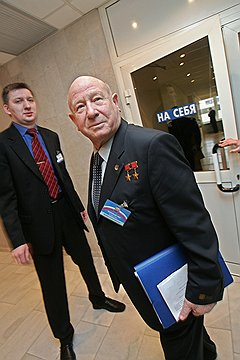 Космонавт Алексей Леонов взял на себя благотворительное направление Альфа-банка