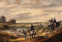 Дворяне, приохотившиеся к поединкам, нередко использовали охоту как прикрытие для выезда на дуэль