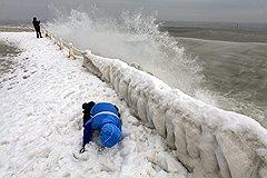 Черноморское побережье Румынии, Констанца. Минимальная температура -34°C