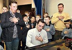 Патриотические песни на уроках вокала кадеты поют от всей души
