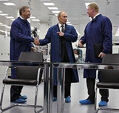 """Производство микрочипов на входящем в """"Ситроникс"""" заводе """"Микрон"""" было профинансировано """"Роснано"""" и поддержано на самом высоком уровне"""