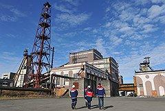"""""""Воргашорская"""", самая продуктивная шахта в Европе, дает девять тонн угля в минуту"""