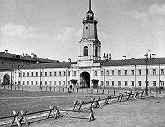 Полицейский дом в Хамовниках, неподалеку от храма Николая Чудотворца. Земля в этом районе сто лет назад ценилась относительно невысоко