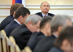 Владимир Путин не находит коррупционеров среди старых товарищей