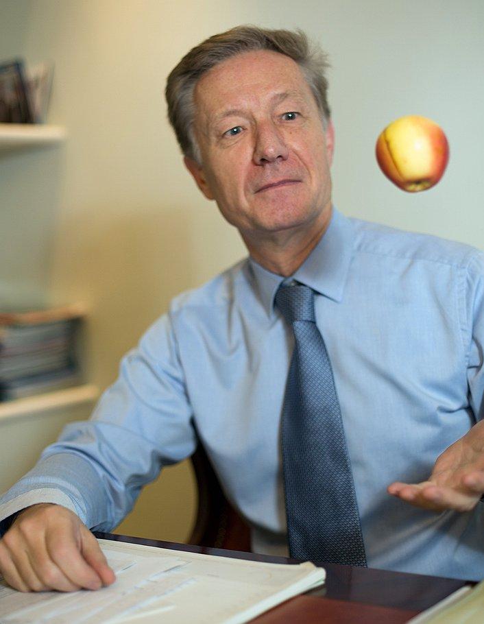 """Один из самых влиятельных топ-менеджеров """"Газпрома"""" Александр Рязанов вполне удовлетворен плодами своего нынешнего дела"""