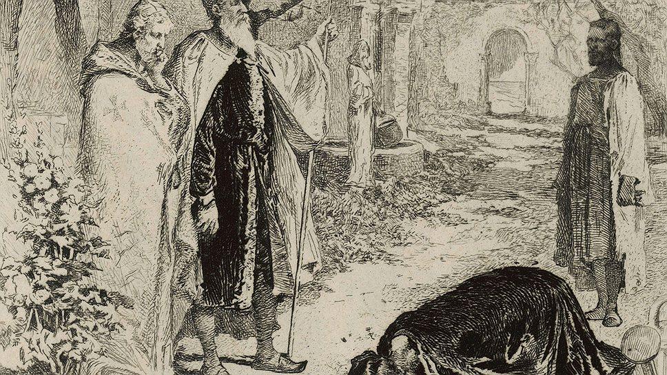 При добром короле Ричарде Львиное Сердце ростовщики были презренным и бесправным сословием