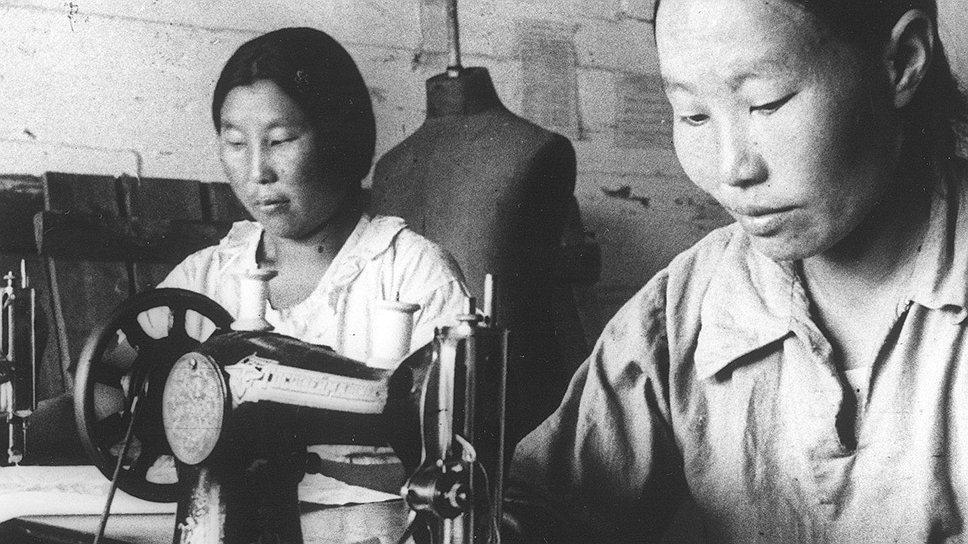 Без дефицитной продержечной резинки не могло существовать никакое швейное производство