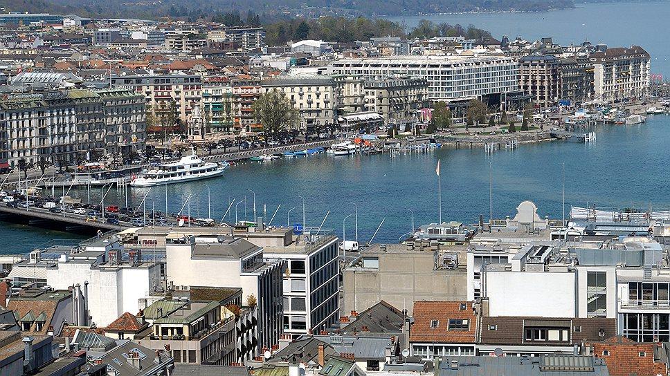 В Женеве почти не строят нового жилья, поэтому недвижимость в дефиците и стоит дорого
