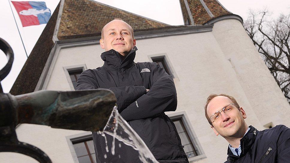 Бизнес приучил Илью Патрикеева (слева) и Алексея Прудкова быть и русскими, и швейцарцами