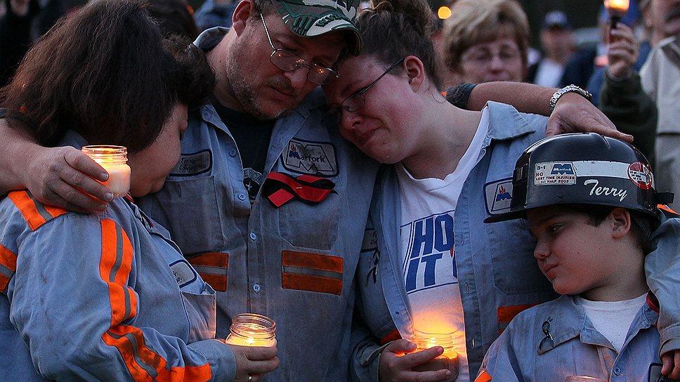 Горе людей, потерявших близких на шахте Аппер-Биг-Бренч, не могло вернуть погибших, но помогло отправить в тюрьму одного нечестного менеджера