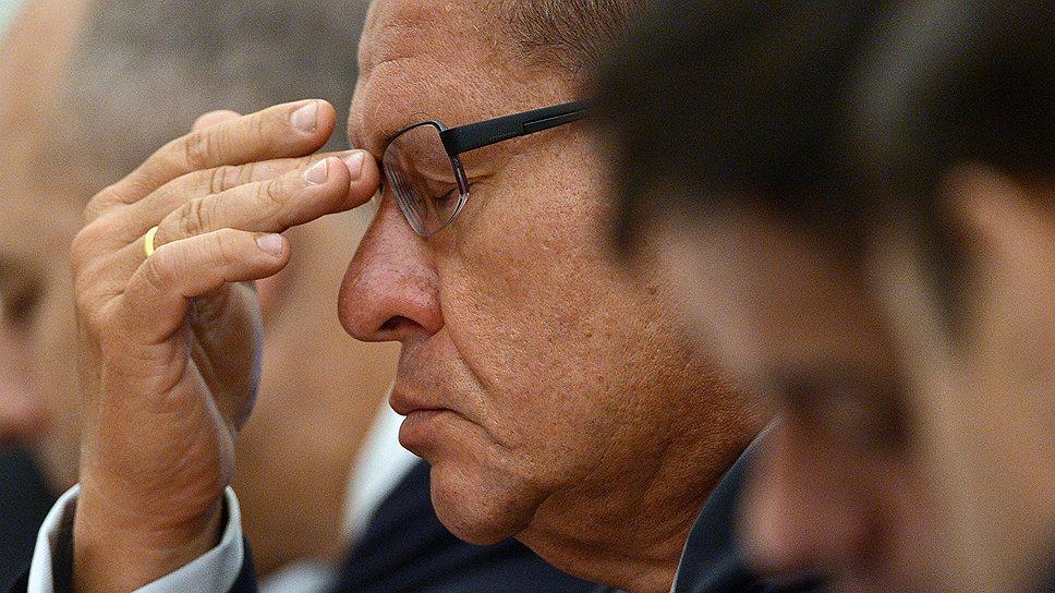 Низкие темпы экономического роста требуют от главы Минэкономики Алексея Улюкаева предельной концентрации