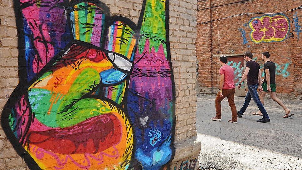 """Компания ПИК надеется побороть городской вандализм, отдав молодым художникам под роспись сахарный завод в рамках проекта """"СахАрт"""""""