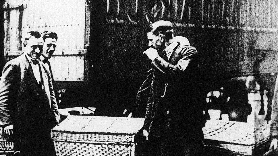 Профессия инкассатора в 1923 году требовала серьезной физической подготовки