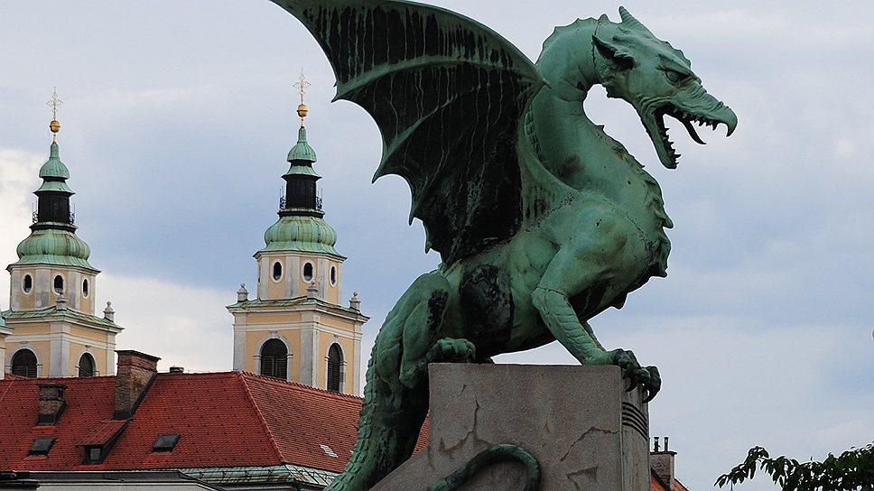 Дракон — древний символ столицы Словении
