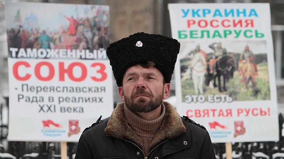 Евразийский путь, союз с Россией и Белоруссией, многим украинцам кажется предпочтительным