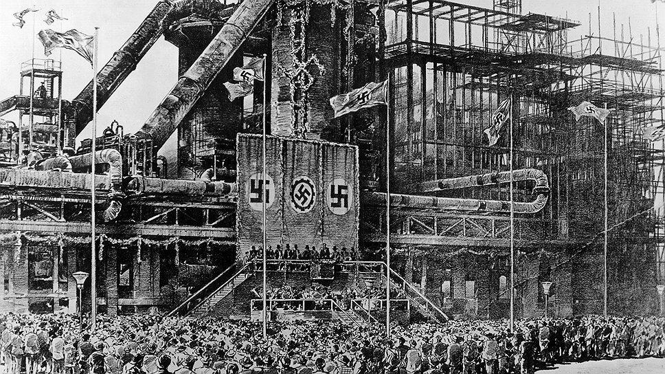 Заводы по производству синтетического топлива должны были обеспечить Гитлеру энергетическую независимость, но почти половина их работников были иностранцами