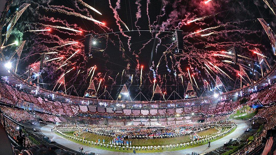 Дорогие спецэффекты лондонской Олимпиады мало походили на олимпийский огонь, когда-то зажженный Пьером де Кубертеном