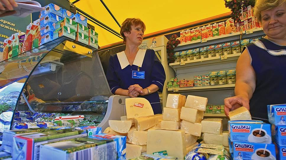 Белорусские производители молочных продуктов по-братски захватили российские прилавки
