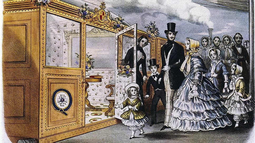 Королева Виктория нашла путешествие по железной дороге весьма приятным