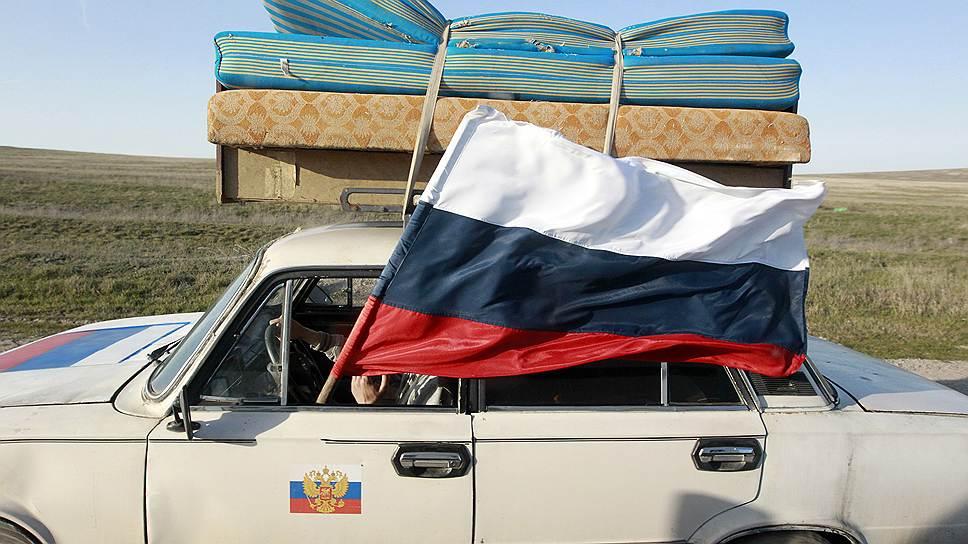 Удастся ли домчаться до Крыма с ветерком, будет зависеть от условий проезда по Украине