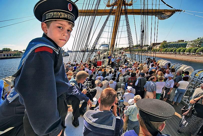 В Питере есть где развернуться и юным морякам, и начинающим бизнесменам