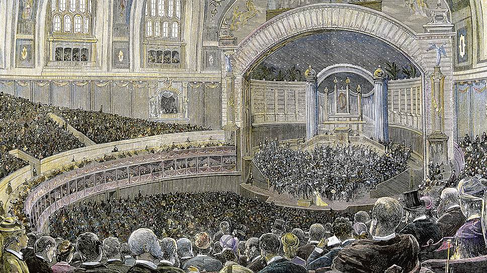 Всемирная выставка 1867 года пришлась на высшую точку развития французской империи