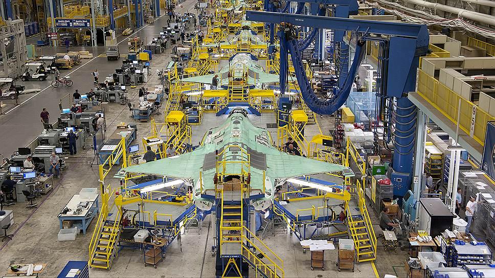 Производство истребителей — самый доходный сегмент бизнеса крупнейшей оборонной компании мира Lockheed Martin