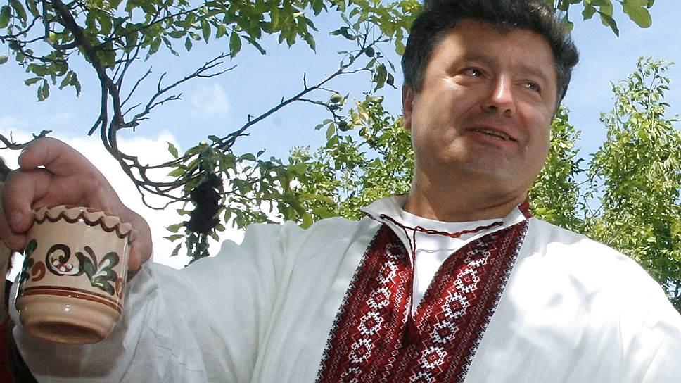 Евроинтеграция объявлена одной из главных политических целей кандидата Порошенко