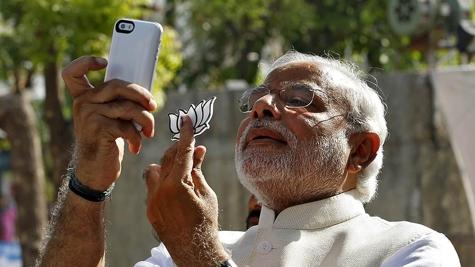 Партия Нарендры Моди победила на выборах, в которых участвовало 550 млн человек