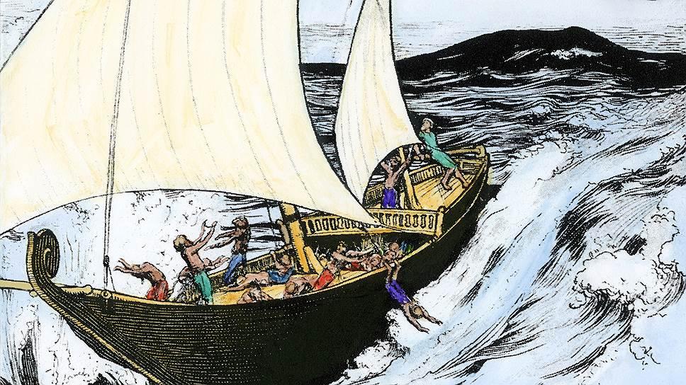 Гигантская птица Рох, конечно, вымышленный персонаж, но остальные приключения Синдбада и сейчас могут стать темой лекций о рисках морской торговли