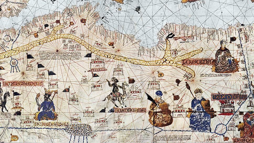 Арабские купцы добирались на востоке до Китая, а на западе — до Западной Африки