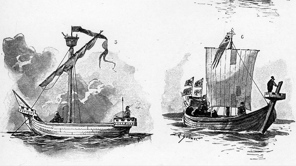 Суммарное водоизмещение торговых судов Ганзейской лиги не превышало размера одного современного танкера
