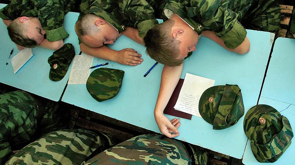 Минобороны надеется, что выпускники военных кафедр станут активным резервом армии