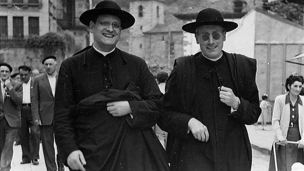 Католический священник Хосе Мария Арисмендиаррета, больше известный как Арисменди (справа), так увлекся идеями социалистов-утопистов, что попробовал воплотить их