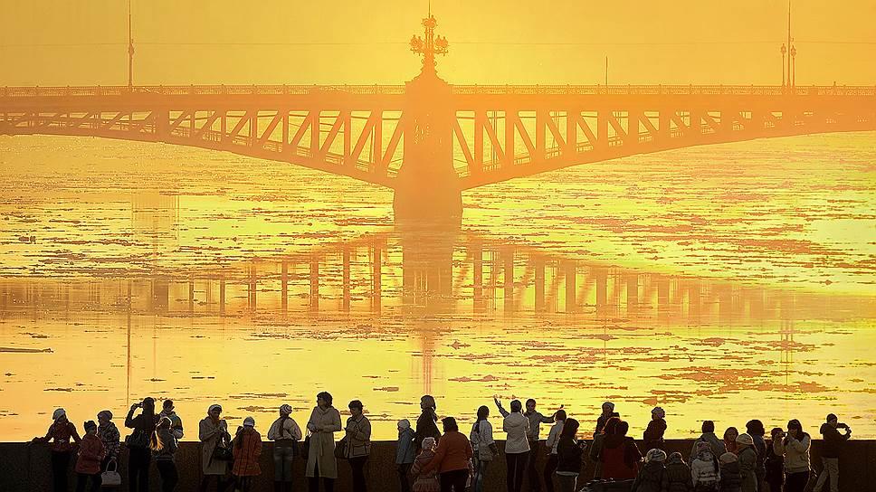 От сокращения потока иностранных туристов в первую очередь страдает Санкт-Петербург, туристическая столица России