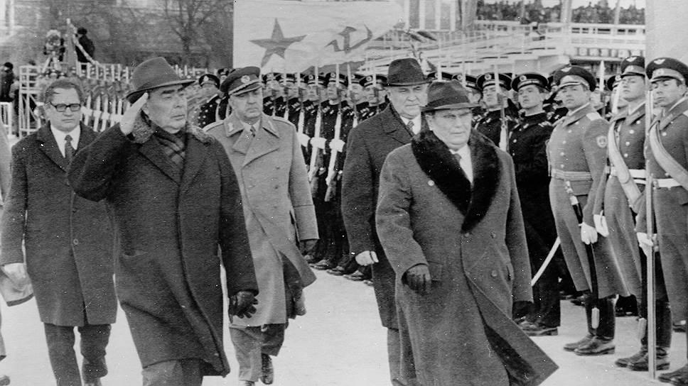 В поисках твердой валюты Иосипу Броз Тито приходилось обращаться к генсеку ЦК КПСС Леониду Ильичу Брежневу