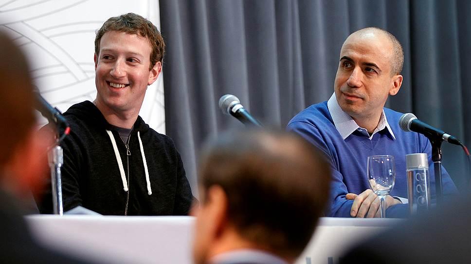 Покупка всего 2% акций Facebook открыла для фонда DST Юрия Мильнера путь во все интересные стартапы
